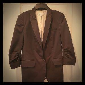 Vintage Calvin Klein 3/4 sleeve unstructure blazer